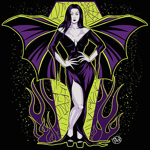Vampira - 12x12 Print
