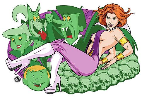 Vampirella Jane - 13x19 Print