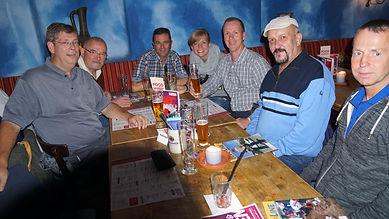 Dinner with IPA Wolfsburg.
