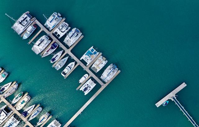 Yachts at Mooloolaba