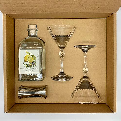 Gift Box ( Martini dry olive e limone )