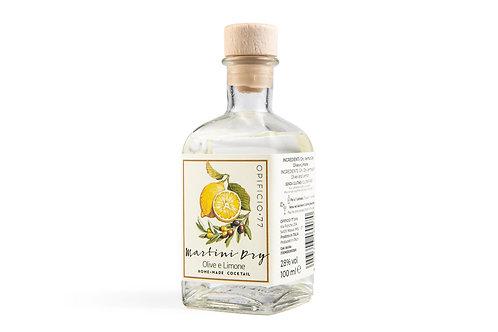 Martini dry olive e limone (MONODOSE 100ml)