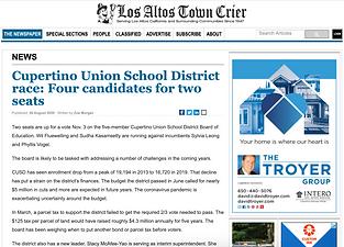 Cupertino Union School District race - F