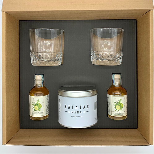 Box Aperitivo ( Mi-To bianco bergamotto e verbena )