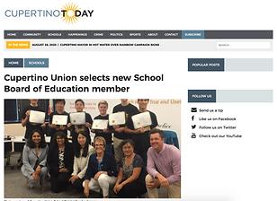 Cupertino Union selects new School Board