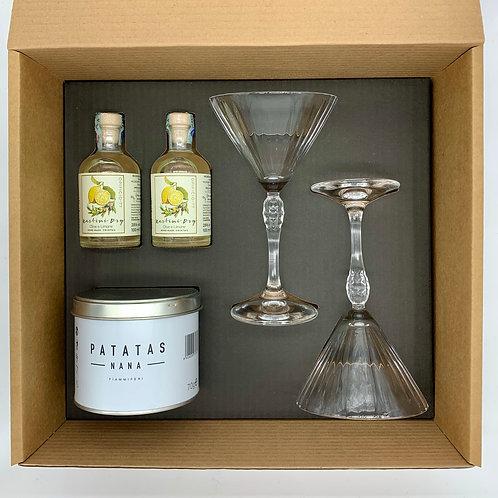 Box Aperitivo ( Martini dry olive e limone )