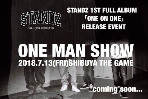 "1st full album ""ONE ON ONE""リリース&レコ発ワンマンライブ開催決定!"