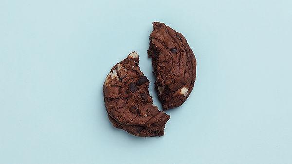 Crushed Schokoladen-Plätzchen