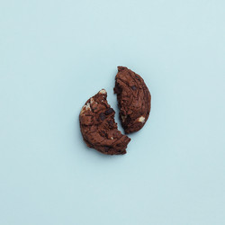 Crushed Chocolate Cookie