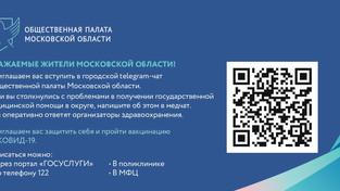 Телеграм-чат Общественной палаты Московской области
