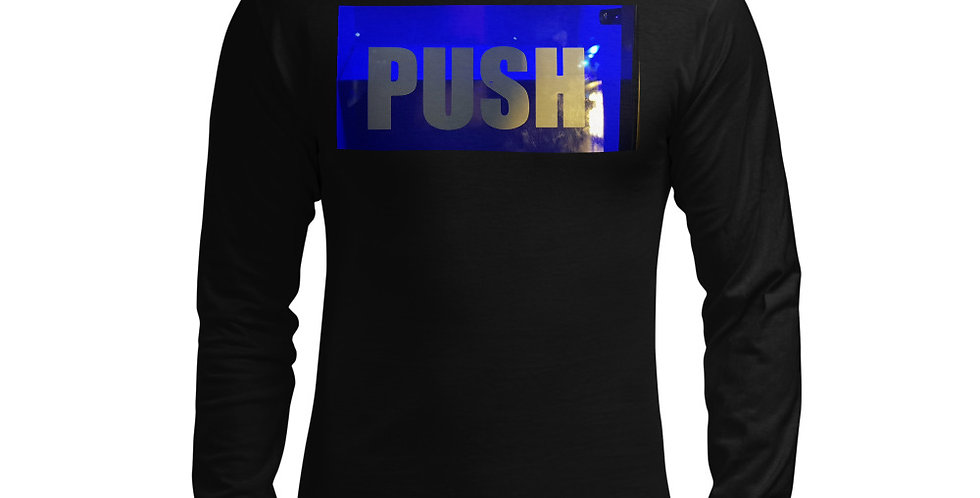 Push Men's Champion Long Sleeve Shirt