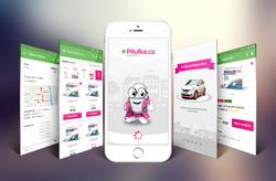 Mobilní aplikace Pilulka