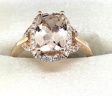14K  Morganite Ring