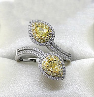 Fancy Yellow Diamond Ring - SOLD