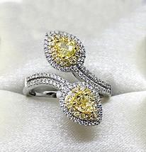 Fancy Yellow Diamond Ring - SOLD