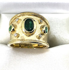 14K Emerald Ring - SOLD