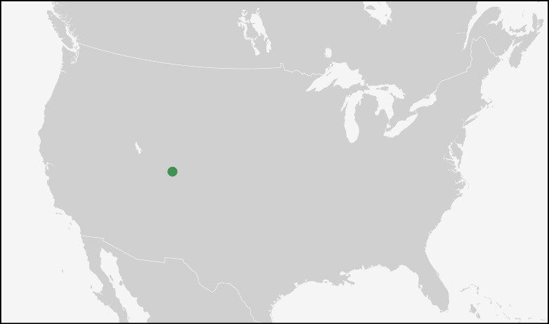 Position of Canyonlands Nationalpark in the US