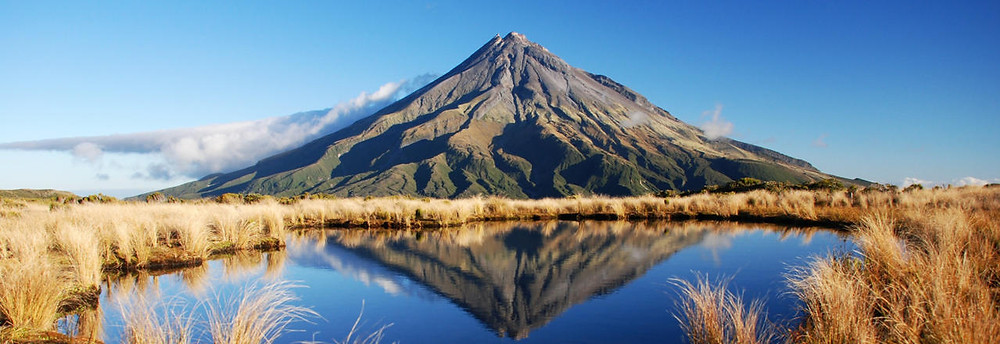 "Mount Taranaki substituted for Mount Fuji in ""The Last Samurai"", starring Tom Cruise (pic source: www.newzealand.com)"