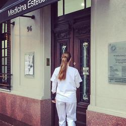 Empezando la semana en _clinica_be  #med