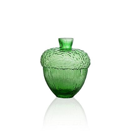 Robur vas H 110 mm grön