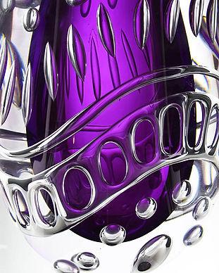 Ariel vas konstglas glaskonst Mikael Ken