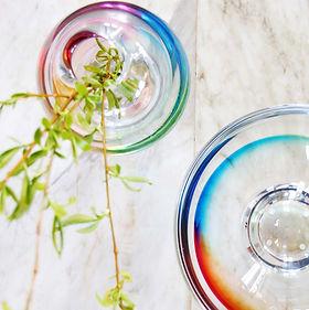 art glass sweden vas vitreum