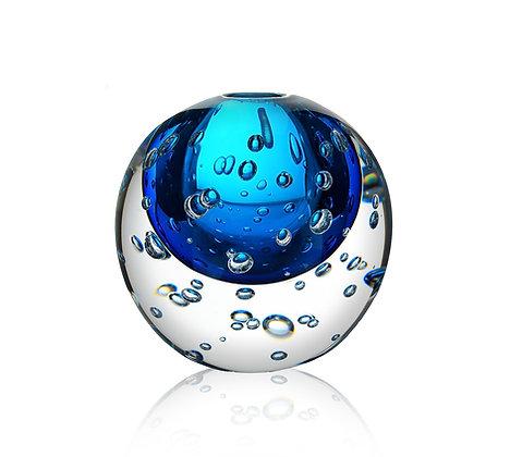 Klotvasen H 140 mm blå