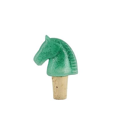 Troja vinkork H 90 mm grön