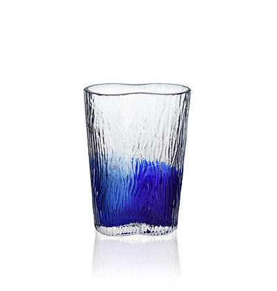 Strand vas 185 mm blå