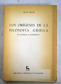 Libro los origenes de la filosofia grieg