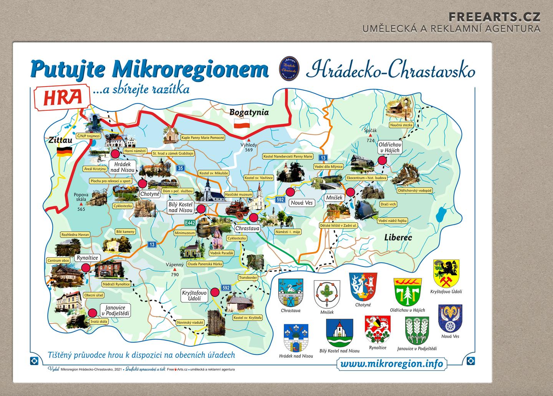 Ilustrované mapy