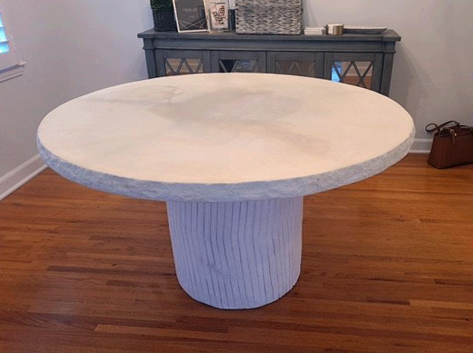Custom CastStone Table