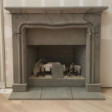 Cast Stone Fireplace