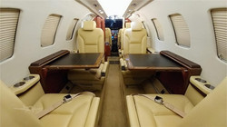 1992 Citation II interior tables down