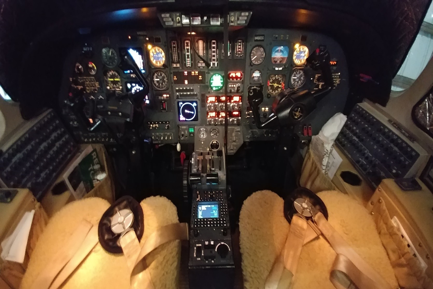 1992 Citation II cockpit