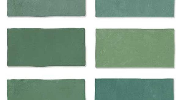 WOFE Fez Emerald Mat 6,25 x 12,5 cm