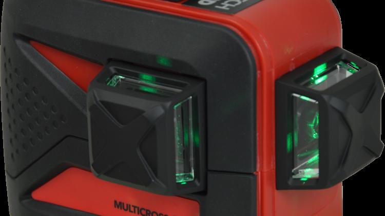 Futech MCD3 Green Compact Li-ion Promo - 3D krydslasere