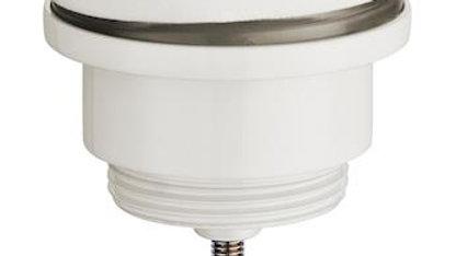 Universal klik ventil i mat hvid