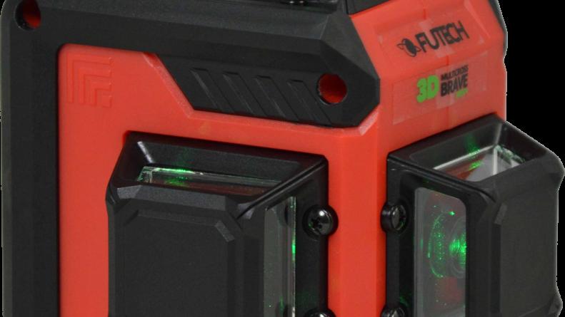 Futech Multicross MC3D Brave Green - 3D krydslasere