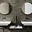 Thumbnail: CAMO 02 Grå 60x60cm, pris pr.pakke
