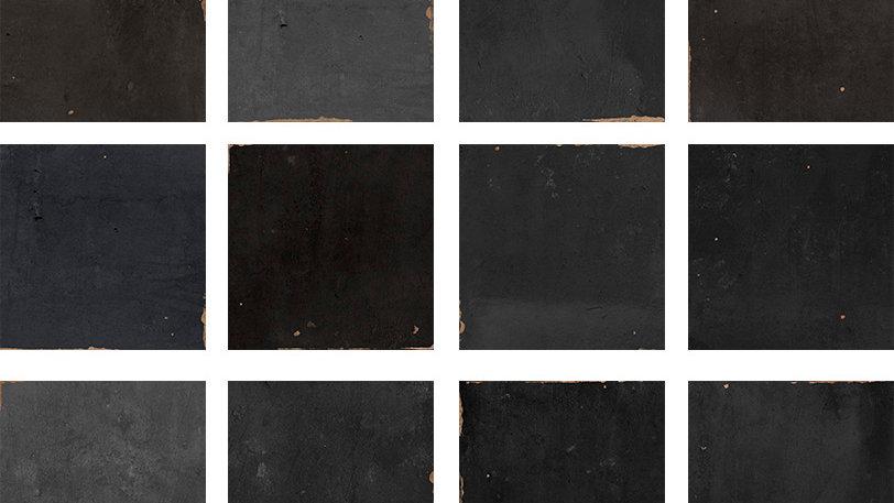 WOZE Zellige Graphite 12,5 x 12,5 cm
