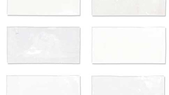 WOFE Fez White Blank 6,25 x 12,5 cm