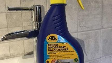 Rengøringsspray kalkfjerner