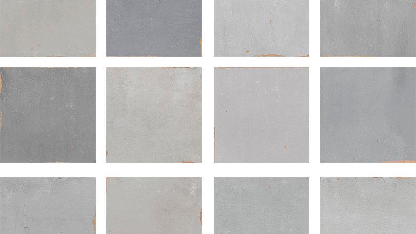 WOZE Zellige Grey 12,5 x 12,5 cm