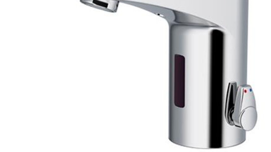 Berøringsfrit håndvaskarmatur i krom