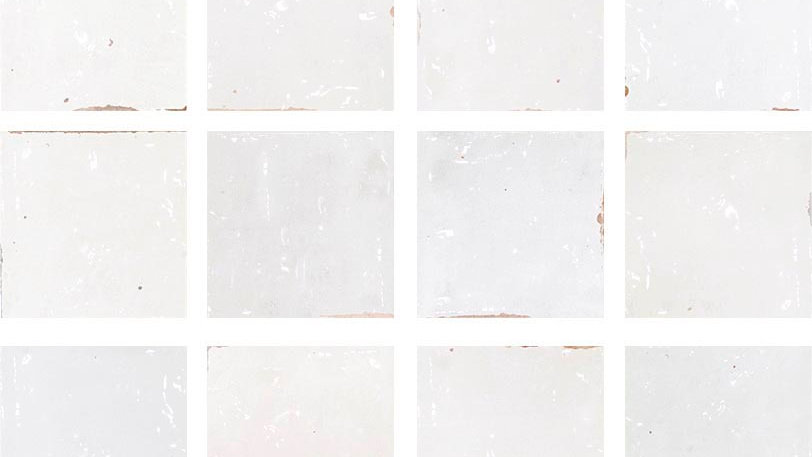 WOZE Zellige White Blank 12,5 x 12,5 cm
