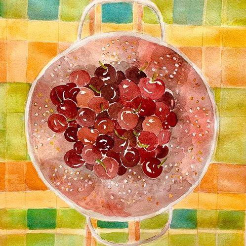 August: CHERRY TIME