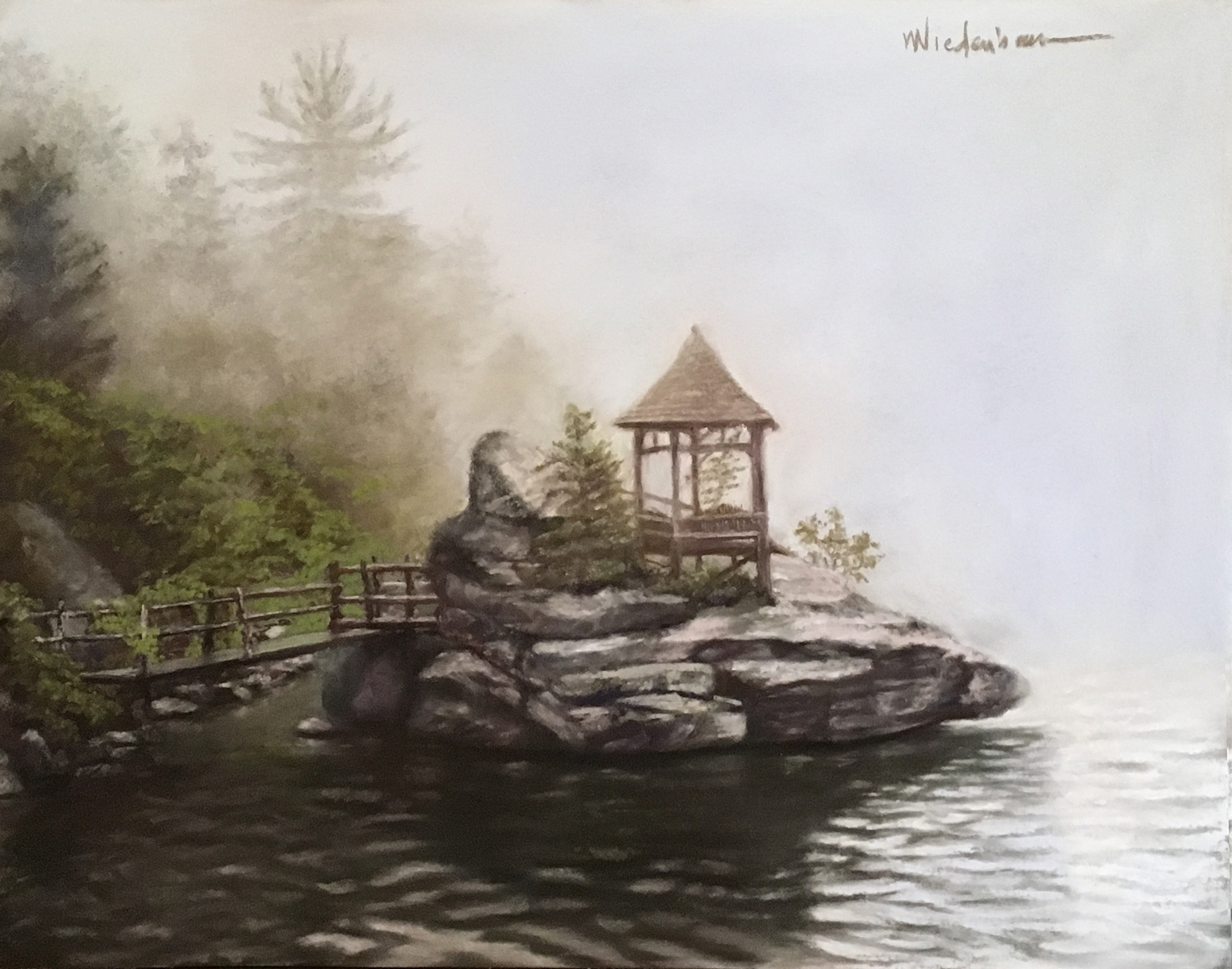 Mohonk Misty Gazebo, 2020
