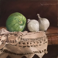 TOMATILLO AND ONIONS