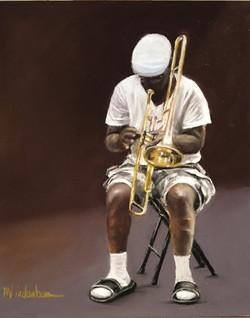 Musicians, Trombone, New Orleans